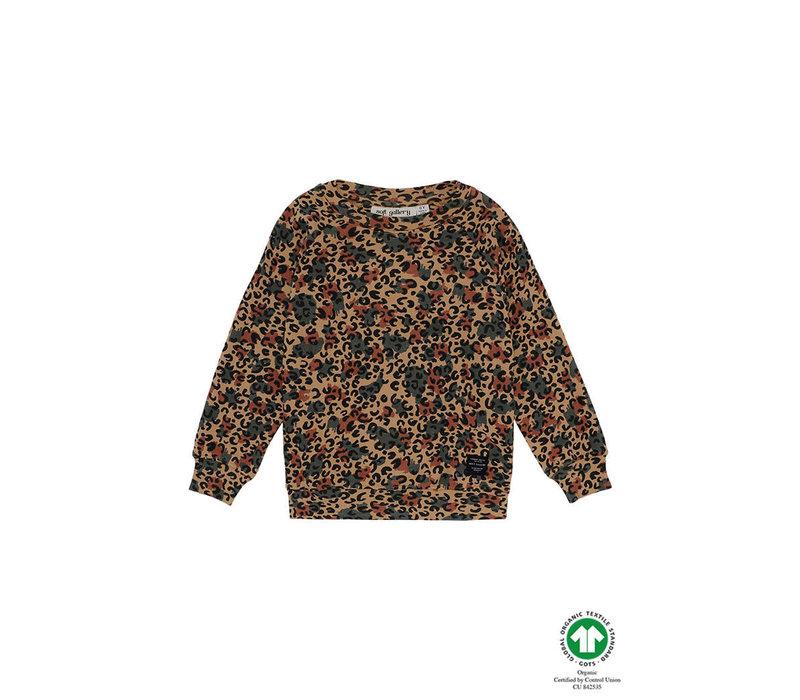 Soft Gallery Chaz Sweatshirt Doe, AOP Camole