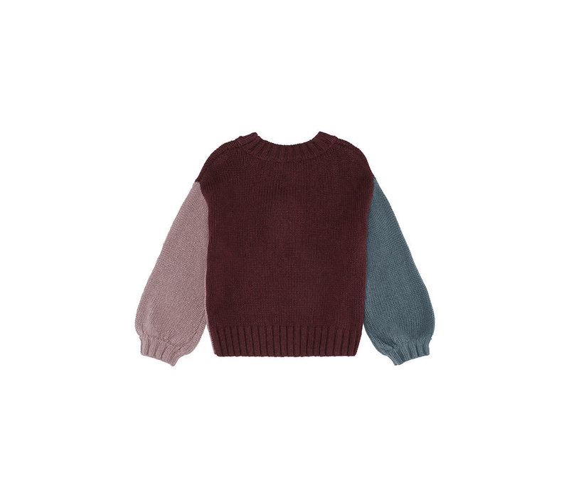 Soft Gallery Essy Knit Tricolor AW19