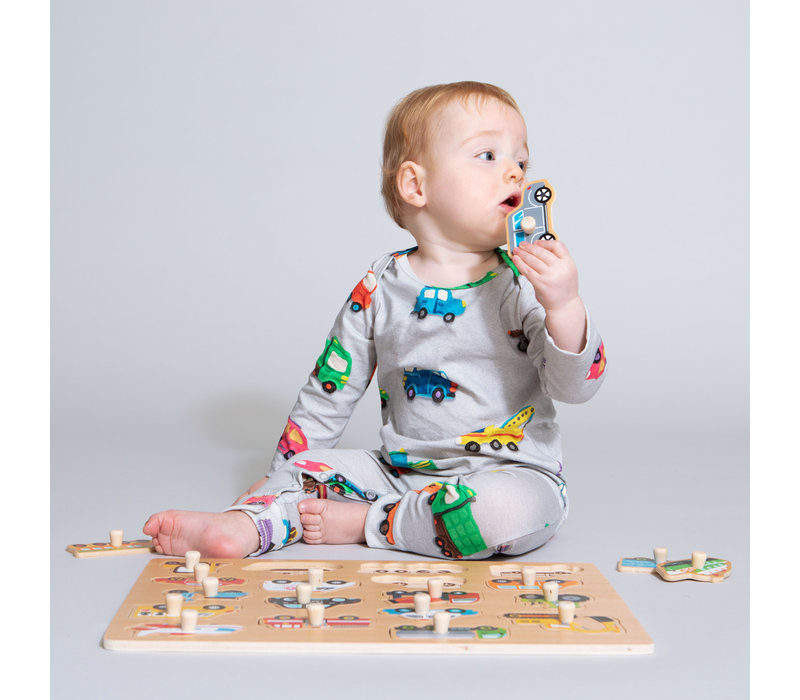 Snurk Clay Cars Jumpsuit