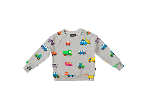 Snurk Clay Cars Sweater