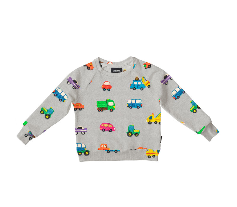 Snurk Clay Cars Sweater