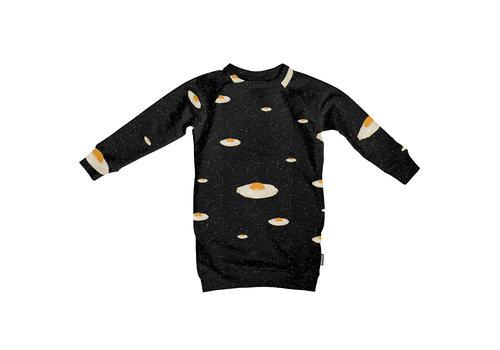 Snurk Snurk Eggs in Space Sweater Dress