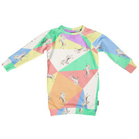Snurk Unicorn Disco Sweater Dress