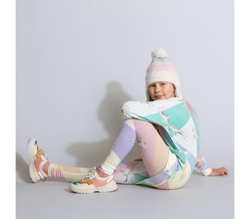 Snurk Unicorn Disco Sweater Dress