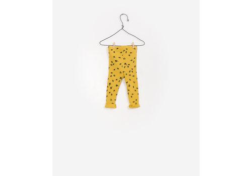 Play Up Play Up printend rib legging yellow
