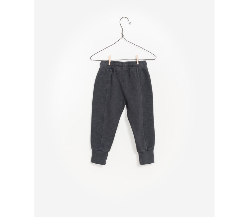 Play Up Fleece Trousers Washed Black