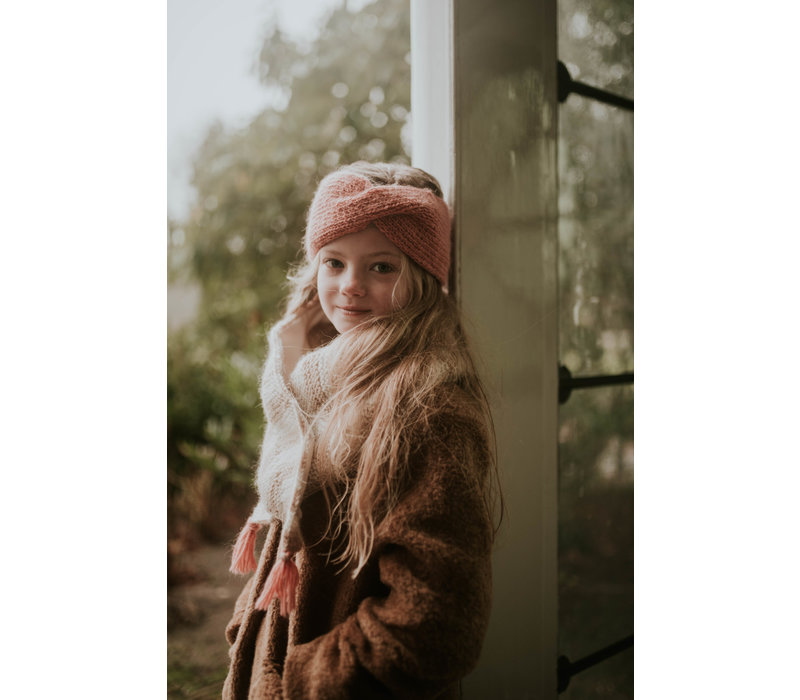 Hats over Heels Turban Headband Pink (kids and adult)