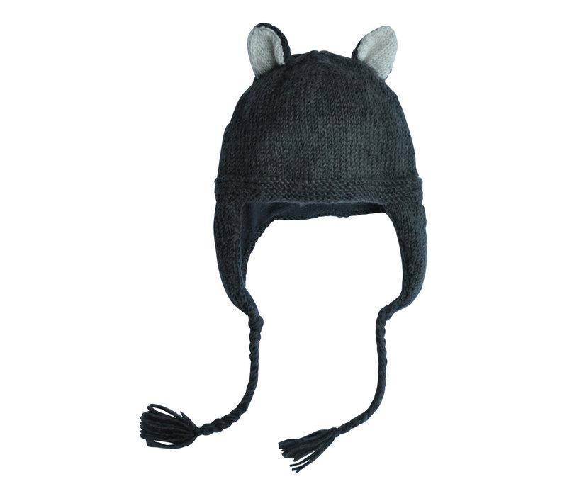 Hats over Heels Skunk hat Dark Grey