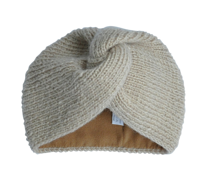 Hats over Heels Turban hatBeige ADULT