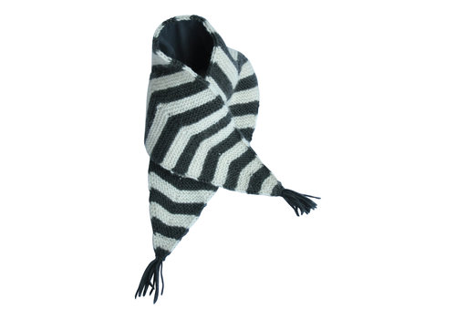 Hats over Heels Hats over Heels Skunk Scarf Dark Grey