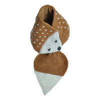 Hats over Heels Hedgehog Scarf Caramel