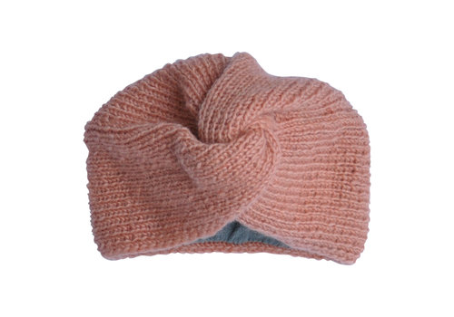 Hats over Heels Hats over Heels Turban hat Pink