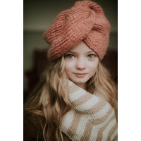 Hats over Heels Turban hat Pink
