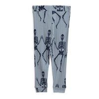 Mini Rodini Skeleton trousers blue
