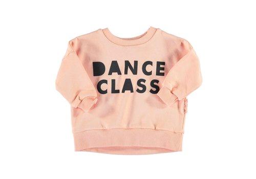 PIUPIUCHICK Piupiuchick Sweatshirt Coral with 'dance class'