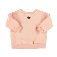 Piupiuchick Sweatshirt Coral with 'dance class'