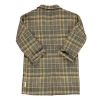 Piupiuchick Tweed overcoat Light brown