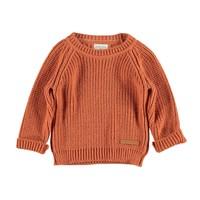 Piupiuchick Knitted sweater Coral
