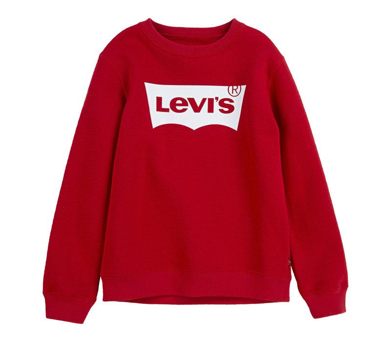 Levis sweatshirt RED/WHITE NJ