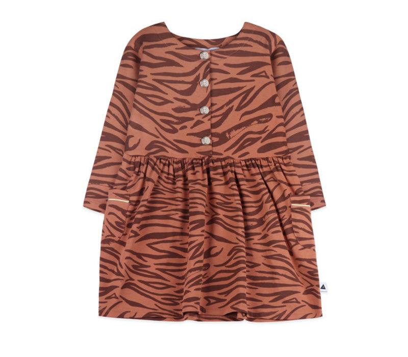 Ammehoela dress Liesje.04 tiger brown