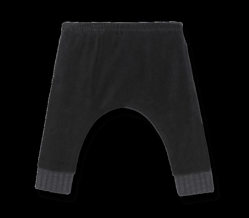 1+ in the family Delfos black velvet pants