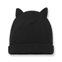 1+ in the Family Paris beanie w ears black