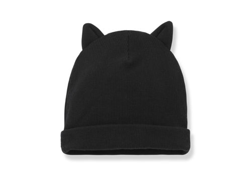 1+ IN THE FAMILY 1+ in the Family Paris beanie w ears black