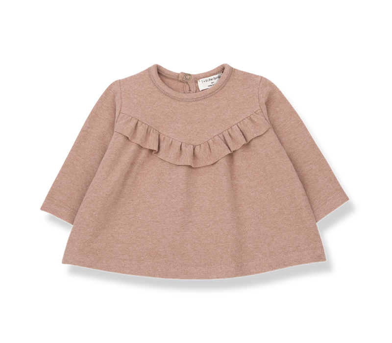 1+ in the Family Long sleeve blouse Alcudia  rose