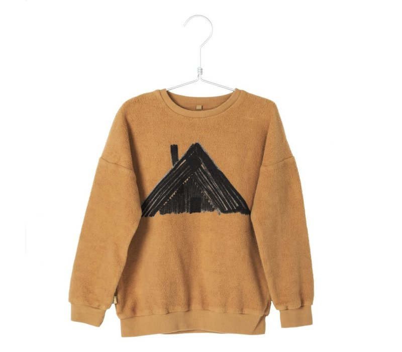 Lotiekids Sweatshirt Polar Cottage Caramel