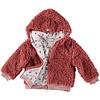 BUHO Buho Panda Fur Hood Girl Jacket