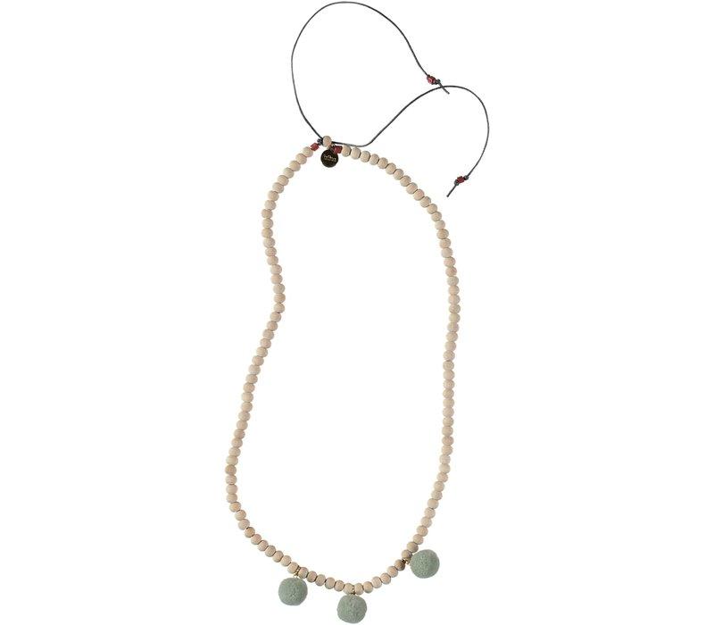 Buho Necklace Finland Grey