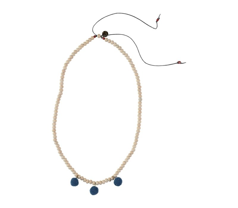 Buho Necklace Finland Ocean Blue