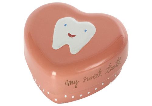 Maileg Maileg Metal tooth box rose