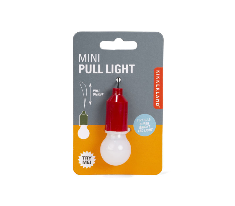 Kikkerland Mini Pull Light