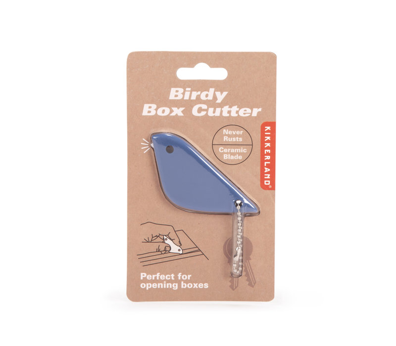 Kikkerland Birdy box cutter