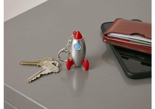 Kikkerland Kikkerland Rocket Keychain