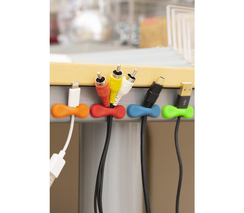 Kikkerland Rainbow Grip Magnets