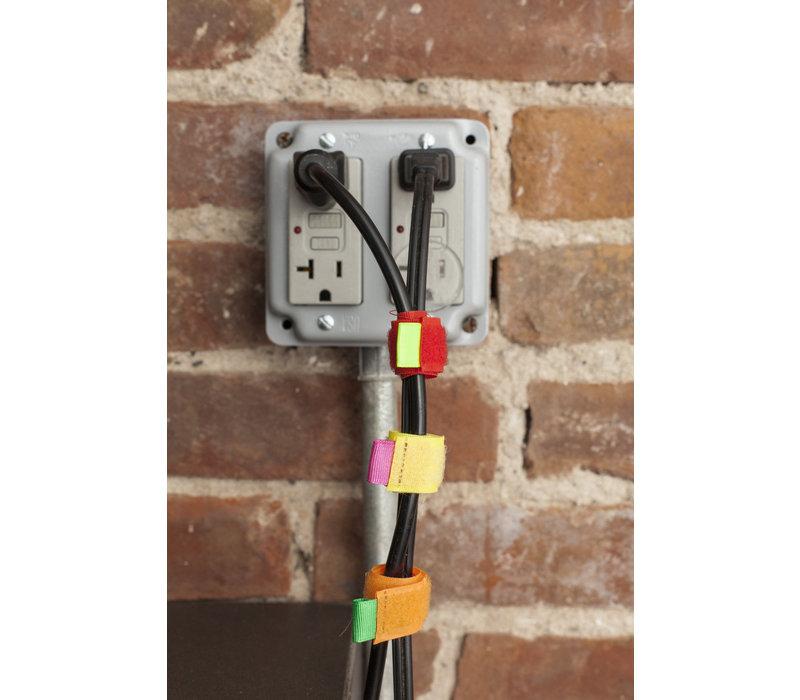 Kikkerland Cable tie Multi color
