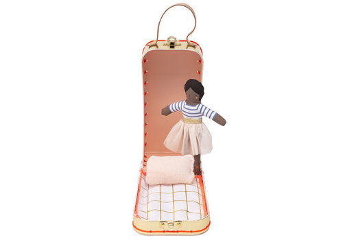 Meri Meri Meri Meri Mini doll ruby in suitcase 12cm