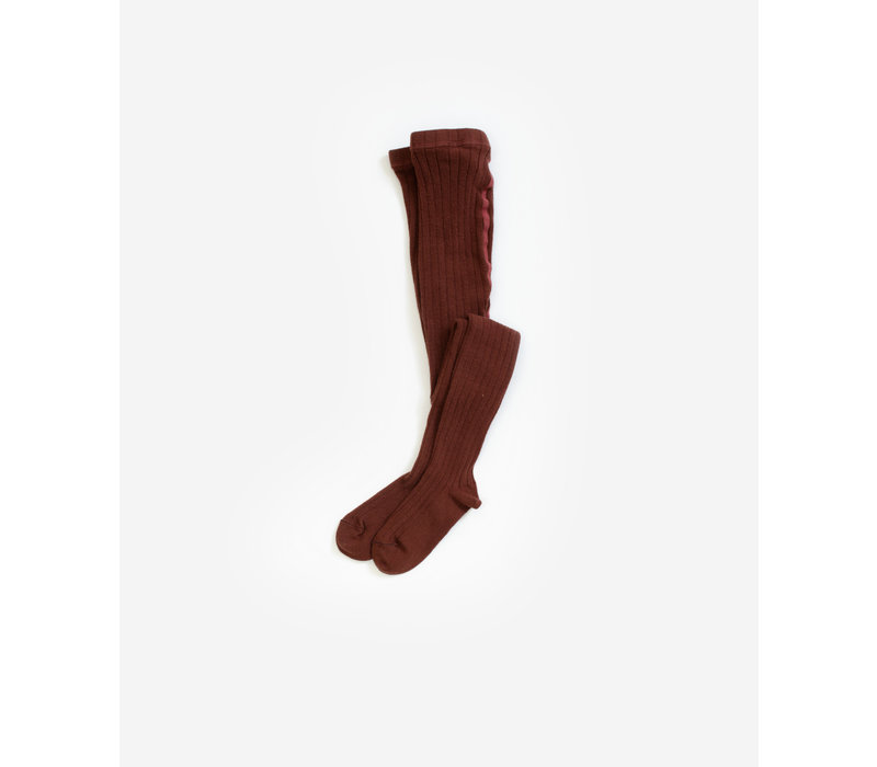 Play Up Rib Tights Cake Plum