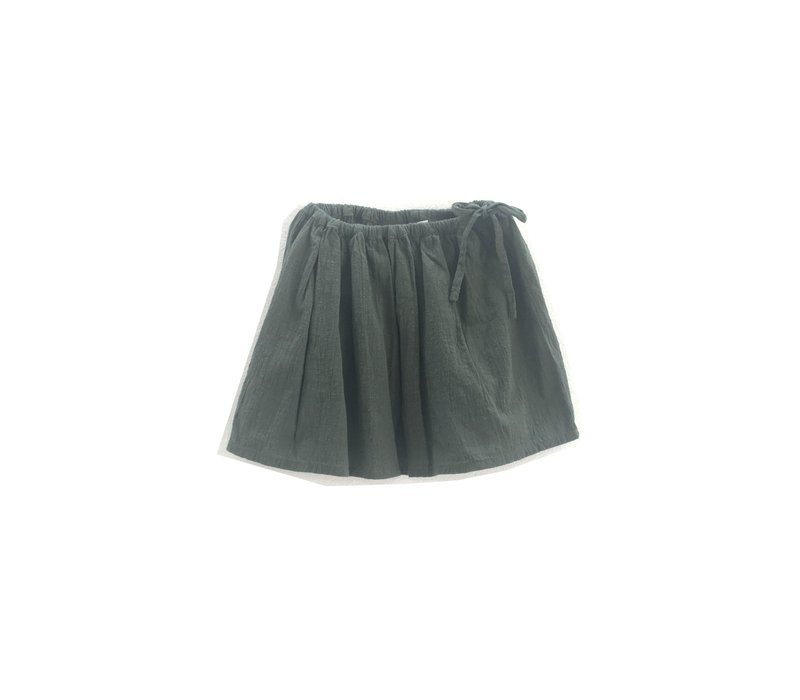 Long live the Queen crinkle skirt green