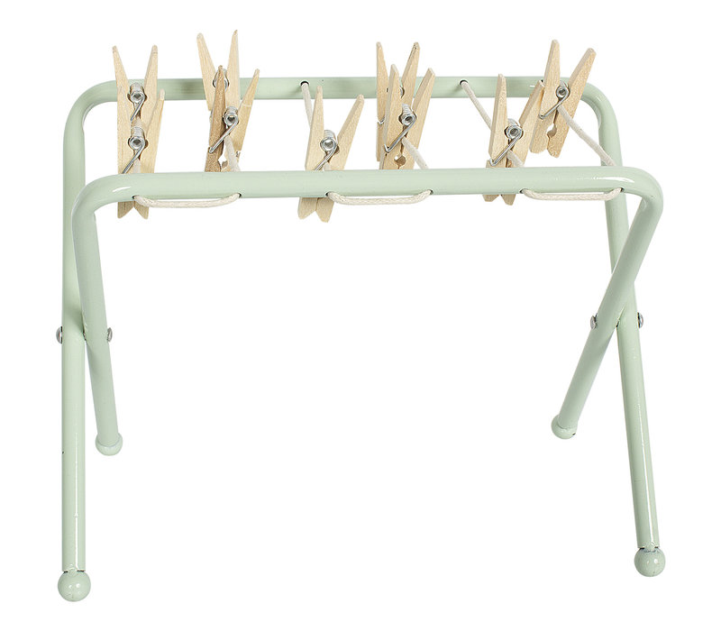 Maileg drying rack w pegs
