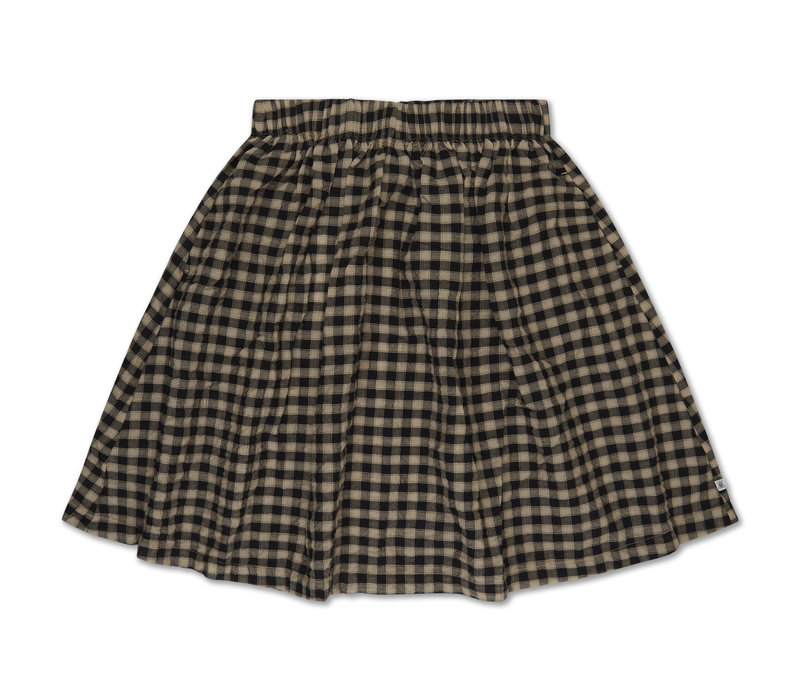 Repose AMS 27. Skirt noir bb check