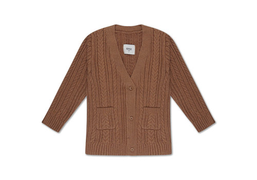 Repose AMS Repose AMS 42. Knit cardigan v neck cable
