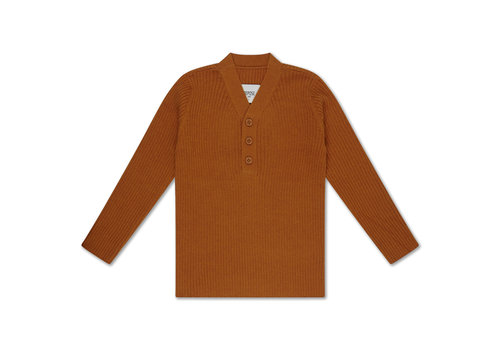 Repose AMS Repose AMS 39. Knit sweater v neck warmed rust