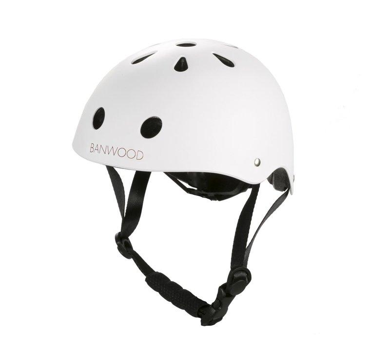 Banwood Classic Helmet Matte White