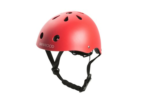 Banwood Banwood Classic Helmet Matte Red