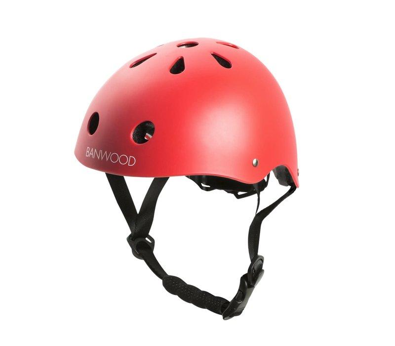 Banwood Classic Helmet Matte Red