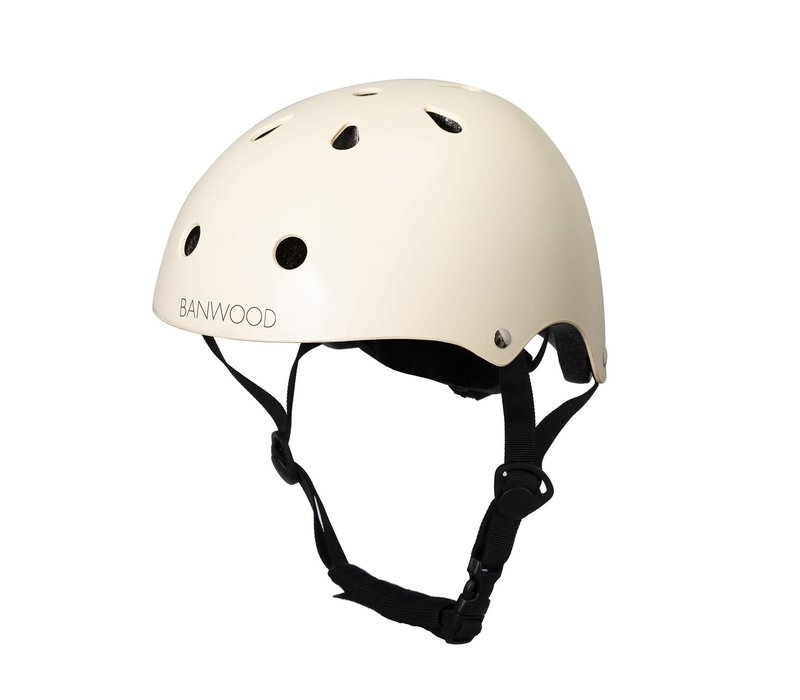 Banwood Classic Helmet Matte Cream