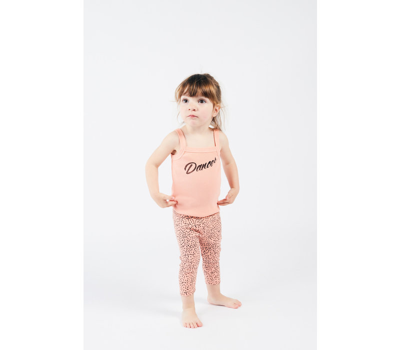 Bobo Choses all over leopard pink leggings